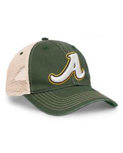 "V37 ""Dirty"" Vintage Trucker Hat by Pacific Headwear"