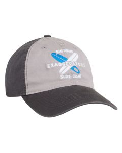 V57 Adjustable Vintage Hat with 3D Custom Embroidery by Pacific Headwear Free Shipping