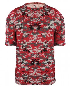 New Digital Camo Performance B-Core Tee by Badger Sports!
