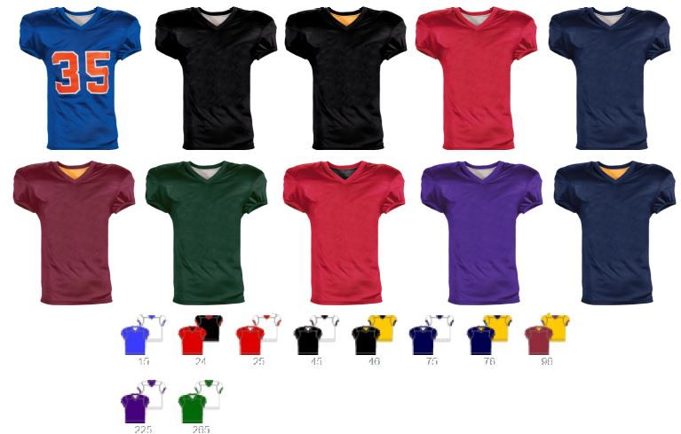 Fleaflicker REVERSIBLE Football Jersey by Teamwork Athletics  66e94feea