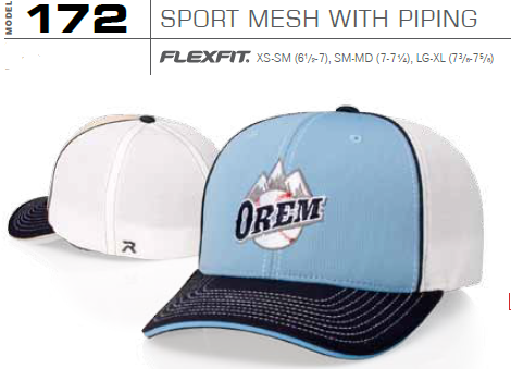 2d64f6eba7f81 Buy 172 Sports Trucker Mesh with Piping Hat Pulse by Richardson Caps