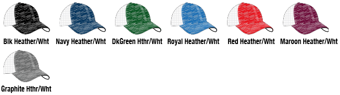 406f agreesive heather trucker mesh Performance Hat COLORS BY PACIFIC  HEADWEAR 0d7418bed37