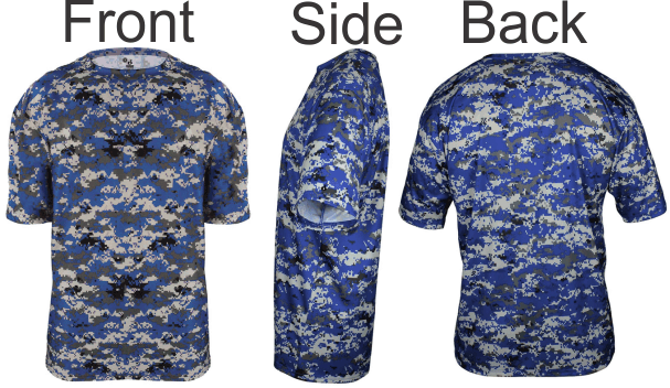 eba8dd9bc95 BUY 4180 DIGI CAMO BASEBALL JERSEY. MADE BY BADGER SPORT. 100% Sublimated  polyester