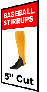 """Buy 5 inch Cut Baseball Stirrups by TCK 