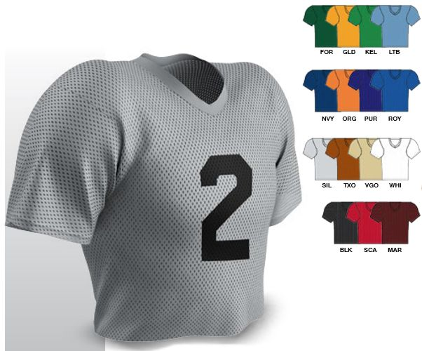 e73650047e2 FJ2 Black - White - Silver - Navy - Red - Royal - Forest Green -. Sizes   Champro Size Chart for Football Jersey. Youth ...