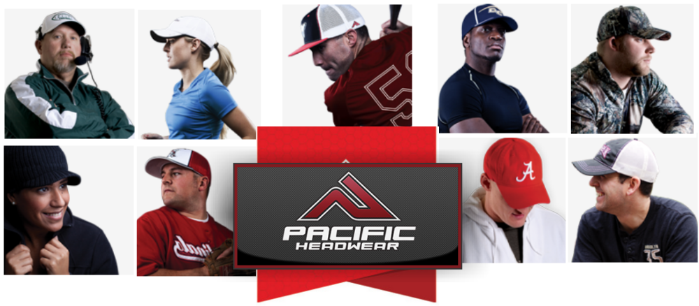 Custom Pacific Headwear Hats | Pacific Trucker Flexfit 404M and
