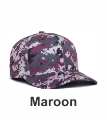 f6469187324d6 Style Number 708F Maroon Digital Camo Universal Fit Hat by Pacific Headwear.