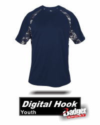 BUY DIGITAL CAMO HOOK JERSEY BY BADGER SPORT 2140