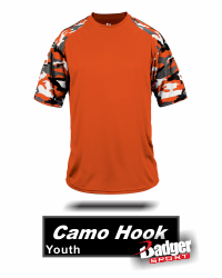 BUY HOOK CAMO BASEBALL JERSEY. CAMO BASEBALL JERSEY. HOOK JERSEY WITH CAMO PANEL DOWN SIDE AND ARM. BY BADGER SPORTS. STYLE NUMBER 4141. Product Description: 100% Polyester moisture management/antimicrobial performance fabric. Sublimated digital side & sleeve panel inserts. Self-fabric collar - Double-needle hem. Badger heat seal logo on left sleeve. Sizes: Adult Sizes: Small - Medium - Large- XL - 2XL - 3XL - 4XL. Available Colors: Red/Red Camo - Forest/Forest Camo - Royal/Royal Camo - Graphite/White Camo - Black/White Camo - Navy/Navy Camo - White/Red Camo - White/Royal Camo. Shipping: Orders will Ship same business day if purchased before 1:00pm EST (Monday-Friday). If you purchase after this time your order will ship next business day. Excluding holidays. Tracking Numbers will be emailed the business day after your order ships. (tracking numbers are sent to the email you provide at checkout). If you Buy and the item or part of your order is out of stock we will email you the same business day to the email provided at checkout. We will email options to help and let you know when new inventory is expected in. (we try to update inventory levels daily).  WHERE TO BUY DIGITAL CAMO? Buy Digital Camo by BADGER SPORT AT GRAHAM SPORTING GOODS.