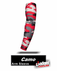 BUY CAMO COMPRESSION ARM SLEEVE BY BADGER SPORTS. STYLE NUMBER 0281