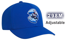 298M PERFORMANCE ADJUSTABLE HAT BY PACIFIC HEADWEAR. 3D CUSTOM EMBROIDERY ON THE FRONT.
