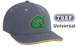 798F PERFORMANCE HAT UNIVERSAL FIT HAT BY PACIFIC HEADWEAR. 3D CUSTOM EMBROIDERY. FREE SHIPPING ON ALL EMBROIDERED HATS.