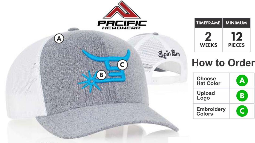 110C Heather Trucker Hat 3D Embroidery Special 110C Description  Profile Material  Pro- Model ca7a92c8662