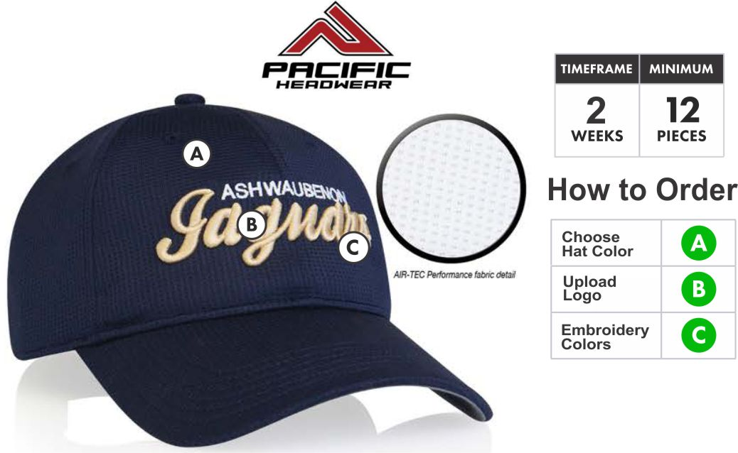 285C AIR-TEC Embroidery Special BUY 285C Air-Tech Performance Velcro  Adjustable Hat WITH 8def7012a02f