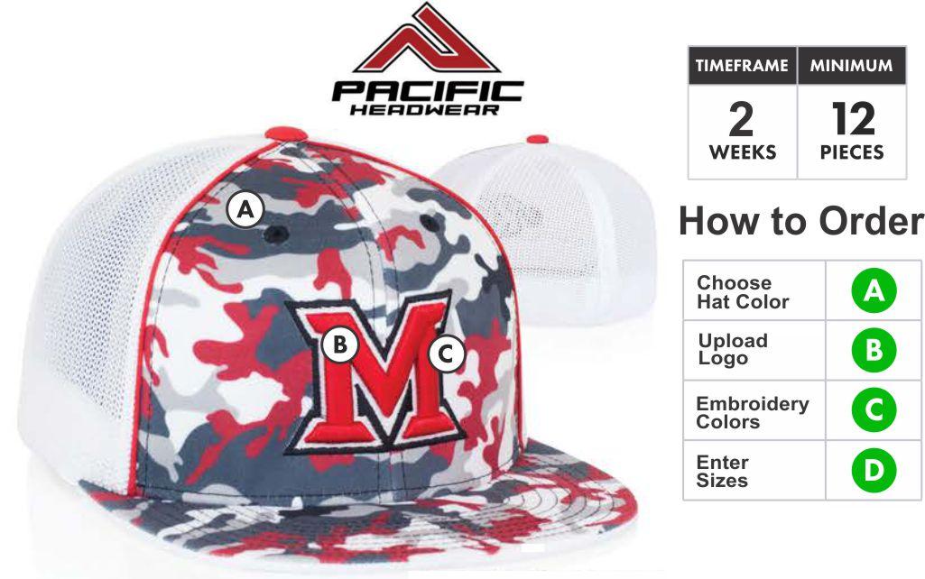 4D2 Glamo Trucker Hat Embriodery Special 4D2 Description Profile Material   Major League profile. cc82ad122cc5