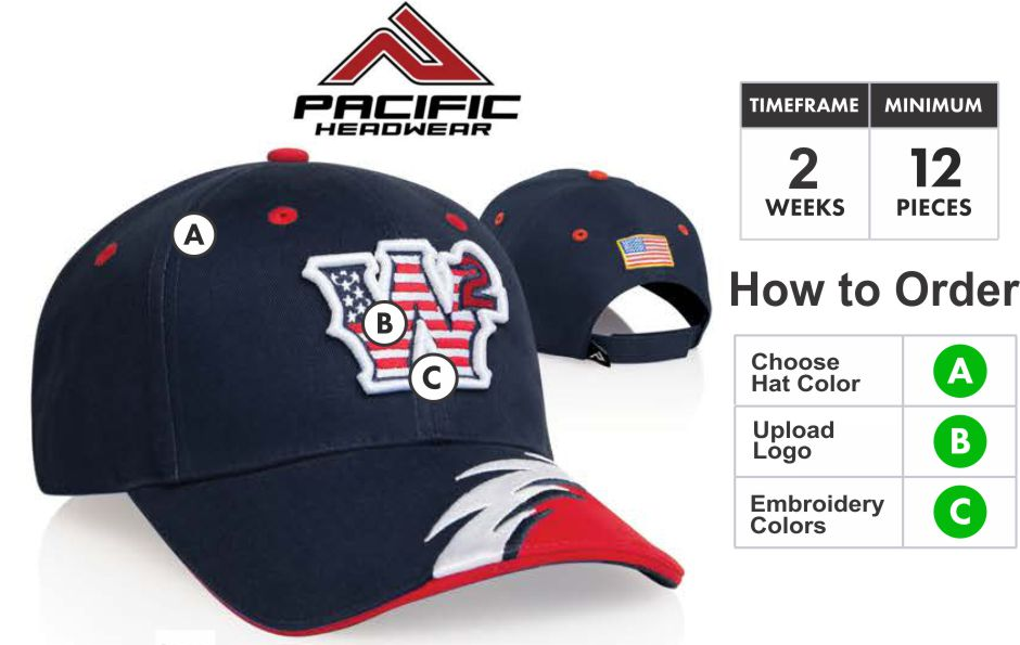 Buy 500c Quot Flash Quot Adjustable Hat With 3d Custom Embroidery