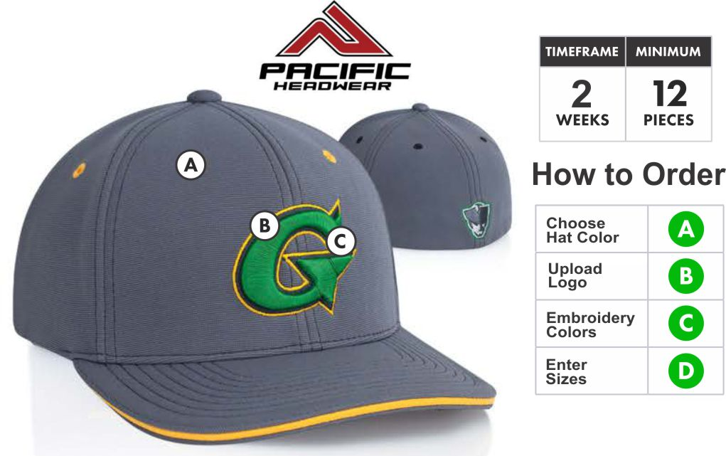 ... Hat with 3D Embroidery Front by Pacific Headwear. 798F M2 Performance  Embroidery Specials Profile Material  Pro-Model shape. M2 performance 37fc3df502fd