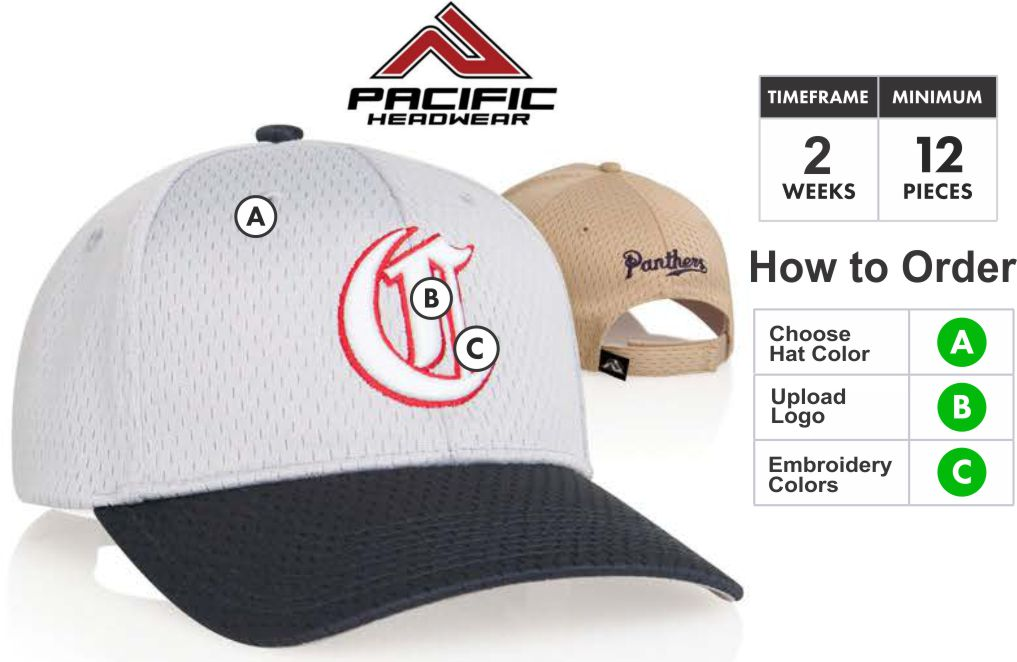 805M Coolport Mesh Embroidery Specials 805M Hat - Custom 3D Embroidery  Front - One Price - 23a0d48c4db
