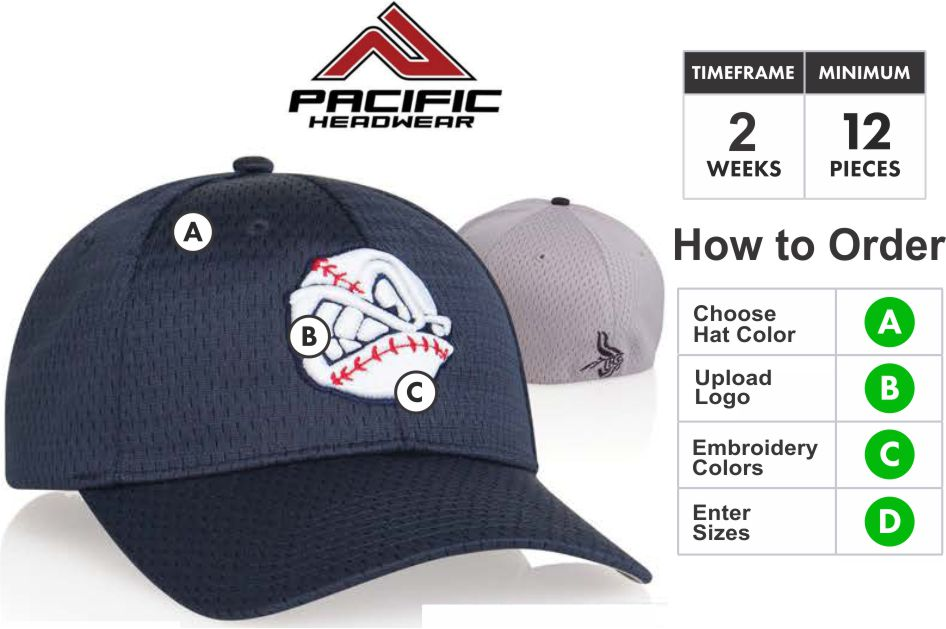 808M Coolport Mesh Embroidery Deal 808M Hat - Custom 3D Embroidery Front -  One Price - 9e1c5a6ba22