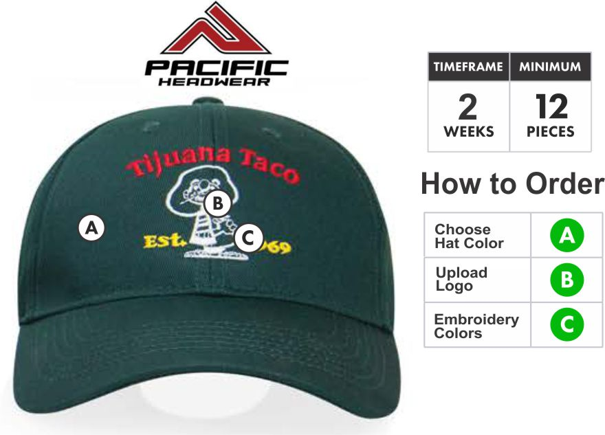 PE4 Structured Embroidery Specials PE4 Hat - Custom 3D Embroidery Front -  One Price - Free 8221eab0d2f9