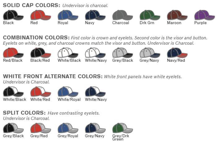 0a6f9e61ca4 BUY PTS30 LITE FLEXFIT HAT BY RICHARDSON CAP. COLORS  SOLID CAP COLORS   Undervisor
