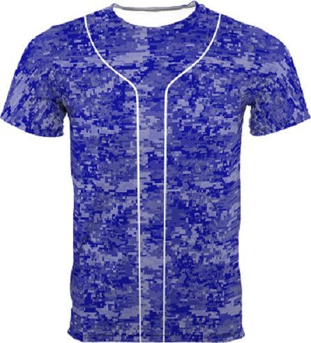 digital camo baseball jerseys