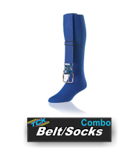 """BUY BASEBALL SOFTBALL BELT SOCK COMBO BY TCK ONLY AT GRAHAM SPORTING GOODS. Product Description Multisport tube packaged with a matching adjustable elastic belt. - Tube Construction - Double Welt Top - Smooth Toe Seam     Colors  BUY BASEBALL BELT SOCK COMBO BY TCK. Product Description: Multisport tube packaged with a matching adjustable elastic belt; sold in 6 pair packs.  CUSTOM ORDER ONLY, CALL TO ORDER Design Features: Tube Construction Double Welt Top Smooth Toe Seam Available Colors: Black Cardinal Columbia Blue Dk. Green Gold Grey Kelly Maroon Navy Orange Purple Royal Scarlet Teal White Available Sizes: Small (Men: 3-6 / Women: 4-7); Belt Size: Youth Medium (Men: 6-9 / Women: 7-10); Belt Size: Adult Large (Men: 9-12 / Women: 10-13); Belt Size: Adult Popular Uses: Baseball Contents: 95% Polyester 5% Rubber Care Instructions: Twin City products are best preserved when machine washed and dried on low heat. NO BLEACH Launder inside out to prevent pilling and fuzzing. Black Cardinal Columbia Blue Dk. Green Gold Grey Kelly Maroon Navy Orange Purple Royal Scarlet Teal White     Sizes Small (Men: 3-6 / Women: 4-7); Belt Size: Youth (18"""" - 32"""") Medium (Men: 6-9 / Women: 7-10); Belt Size: Adult (30"""" - 46"""") Large (Men: 9-12 / Women: 10-13); Belt Size: Adult (30"""" - 46"""")  BUY TCKS SOCKS SIZE CHART ONLY AT GRAHAM SPORTING GOODS     Popular Uses Baseball - Softball     Contents - 95% Polyester - 5% Rubber     Care Instructions  Twin City products are best preserved when machine washed and dried on low heat. NO BLEACH Launder inside out to prevent pilling and fuzzing."""